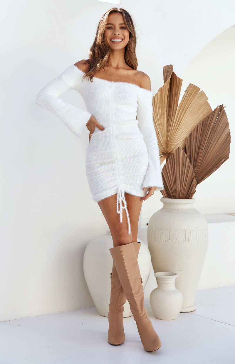 PENRITH DRESS - WHITE