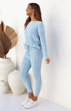 NADINE LOUNGEWEAR PANTS - BLUE