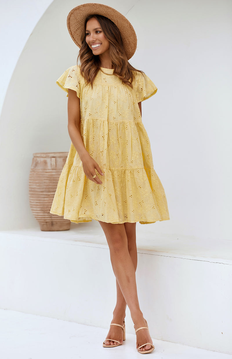 METRO DRESS - YELLOW
