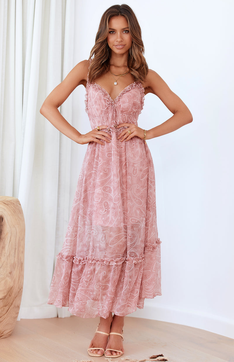 KELSO DRESS - ROSE