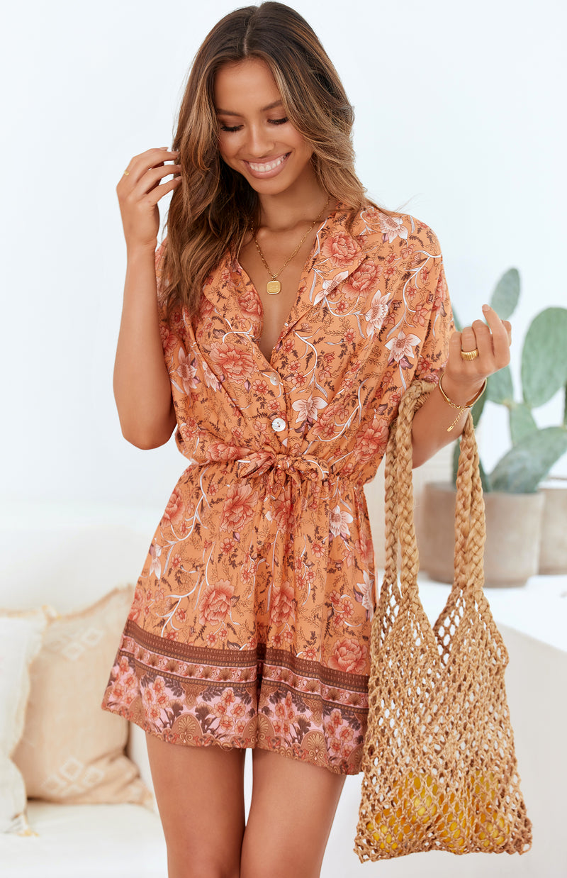 MAIDEN PLAYSUIT - PRINT