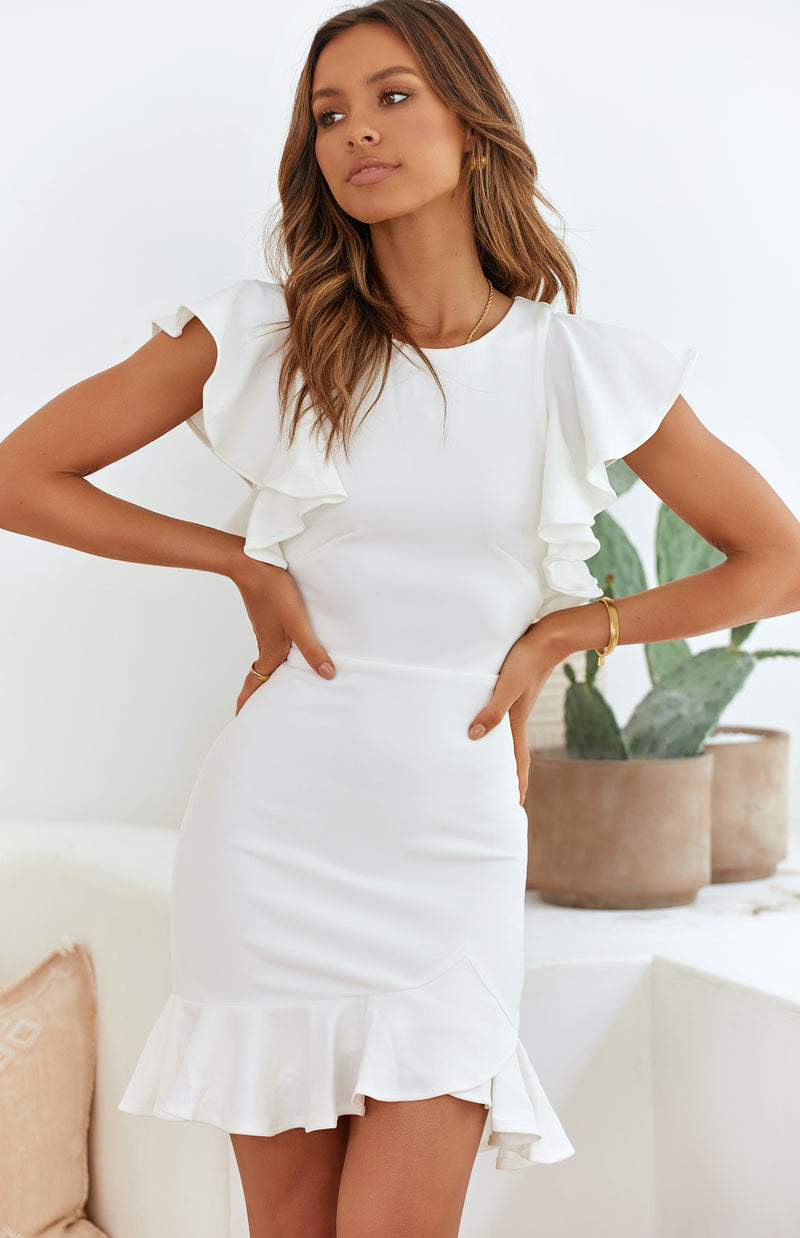 DORI DRESS - WHITE