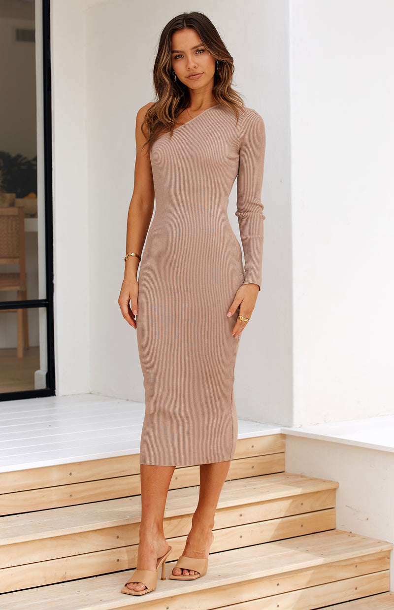 UNCHAINED DRESS - MOCHA