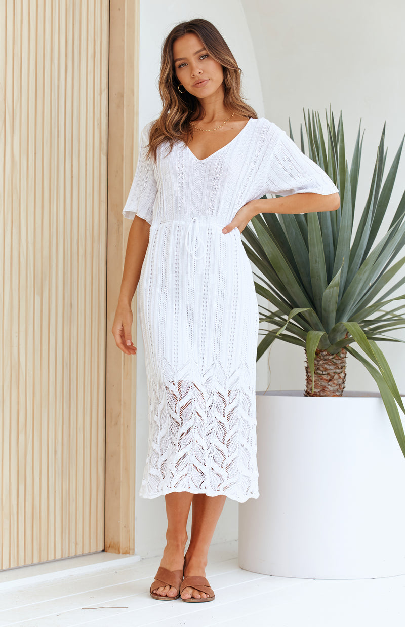 ZANI DRESS - WHITE