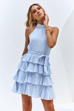 FORTUNE DRESS - BLUE