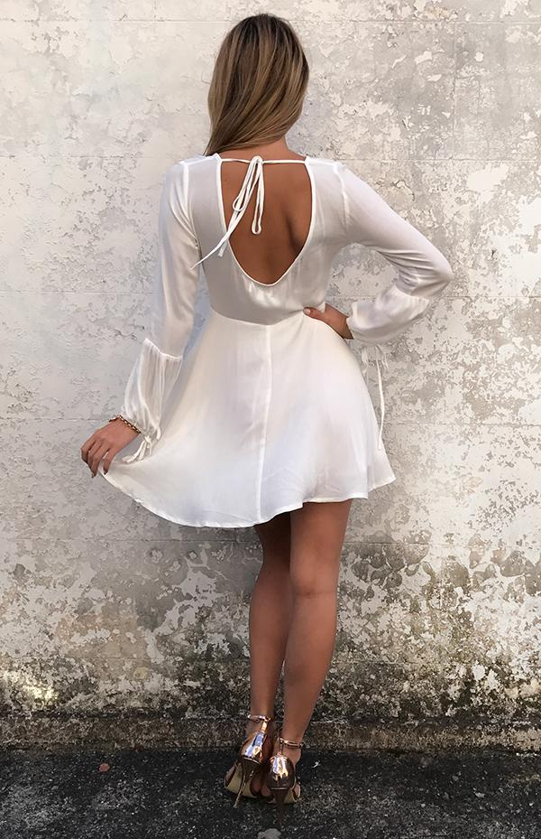 HOLLIE DRESS - WHITE
