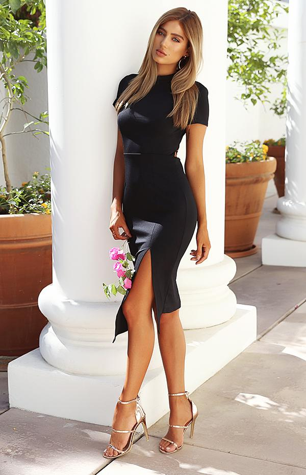 PINNACLE DRESS - BLACK