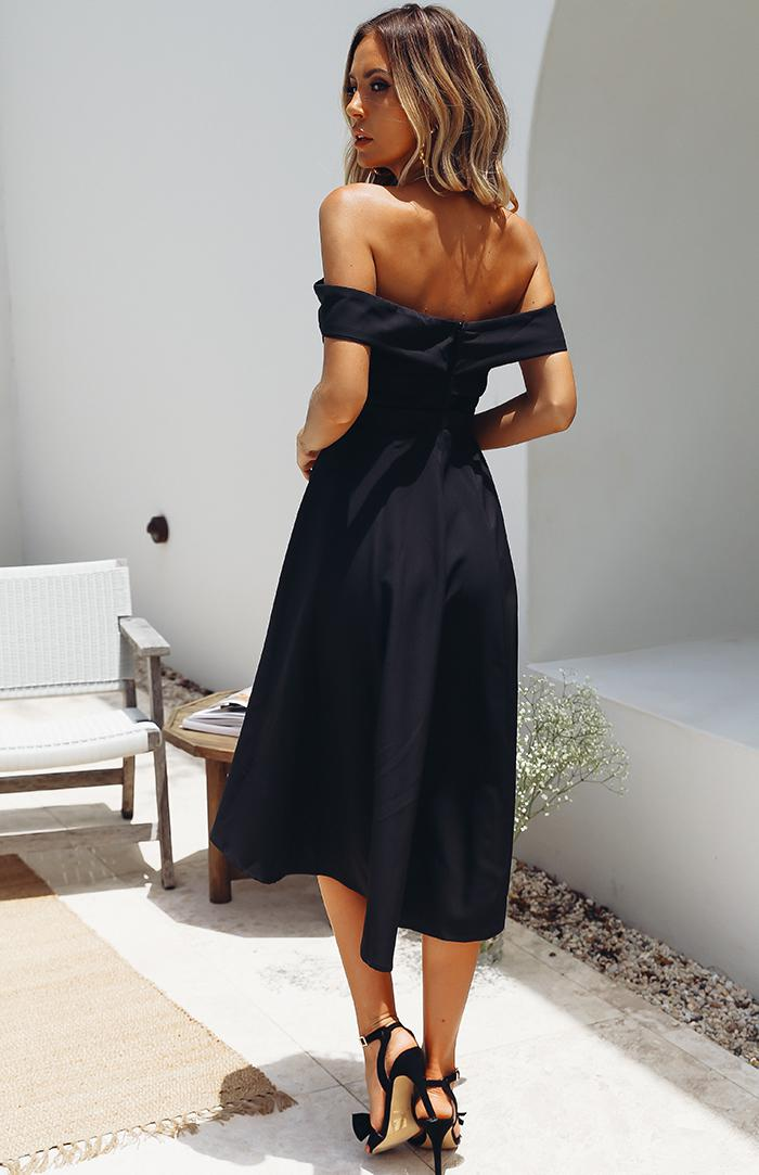 SEEKER DRESS - BLACK