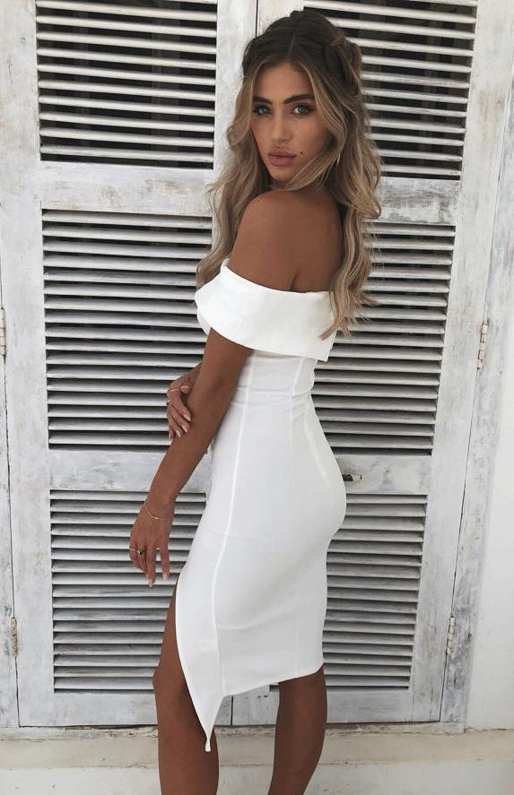 BLOSSOM DRESS - WHITE