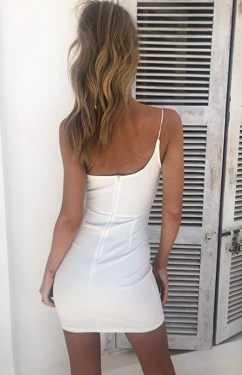 BASRA DRESS - WHITE