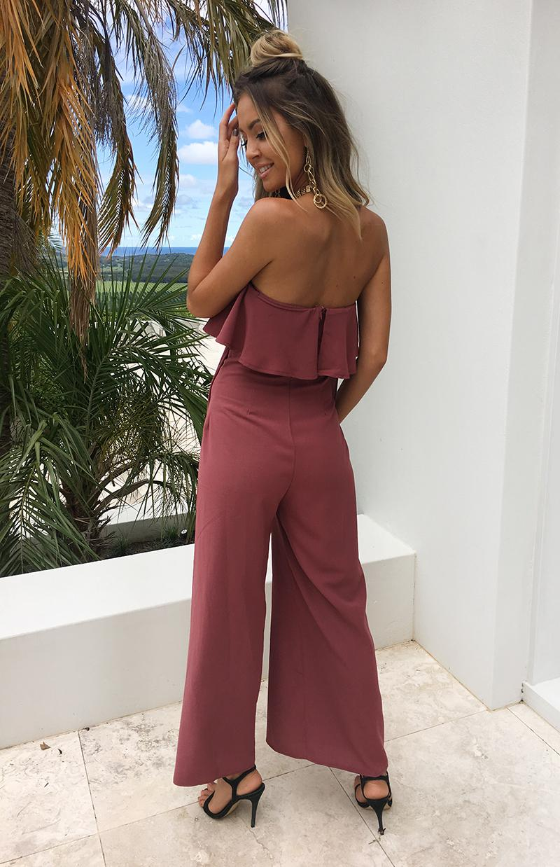 PALACE JUMPSUIT - ROSE
