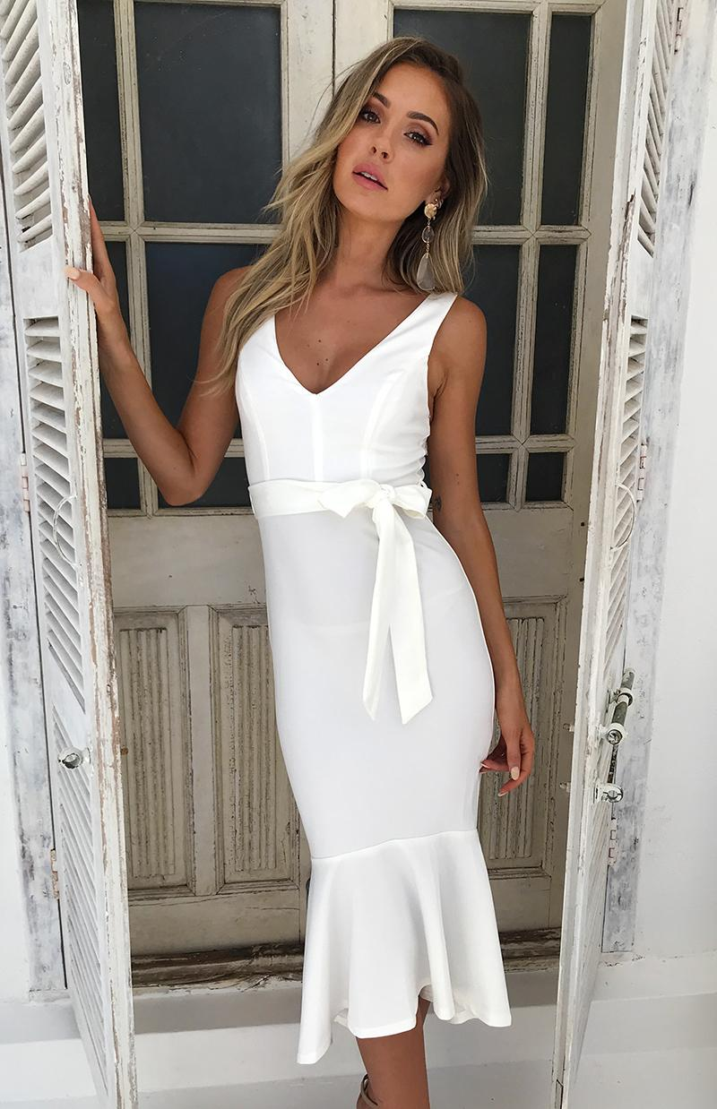 PETERSEN DRESS - WHITE