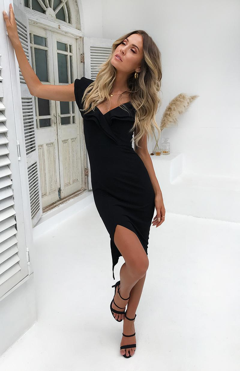 KENDRA DRESS - BLACK