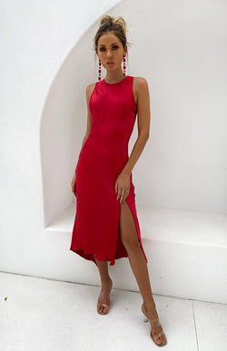 CANGGU DRESS - RED