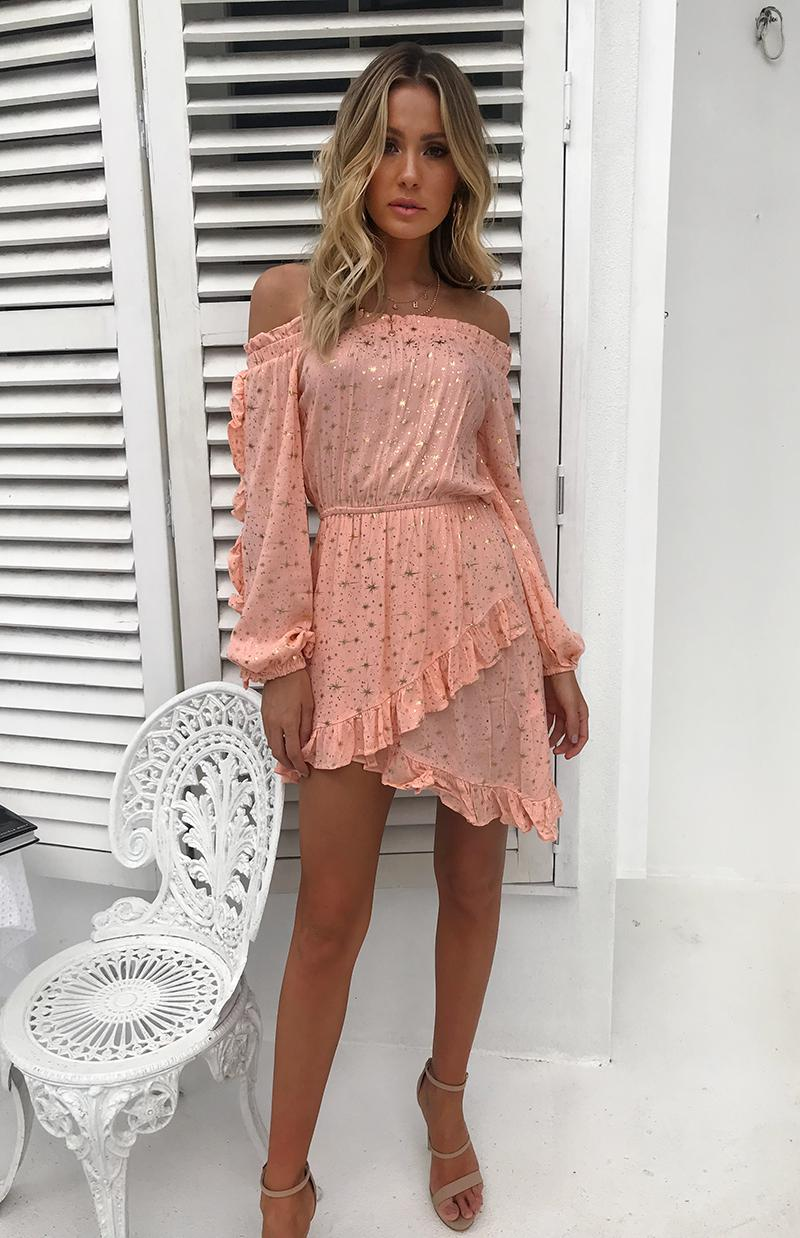 RUSSO DRESS - PEACH