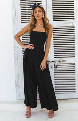SHAYLA JUMPSUIT - BLACK