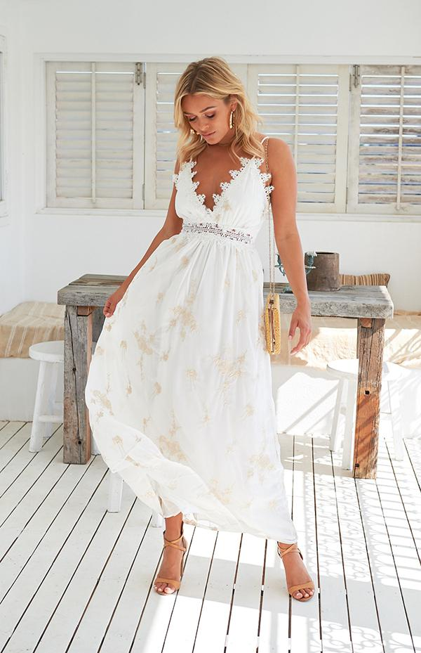 SUMMERTIME MAXI - WHITE