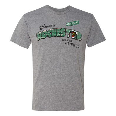 Rochester Red Wings Postcard Tee