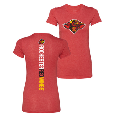 Rochester Red Wings Women's Razorback Tee