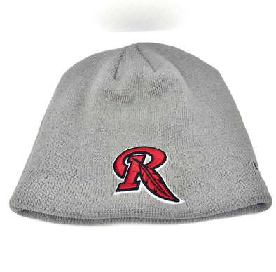 Rochester Red Wings Gray Knit Cap