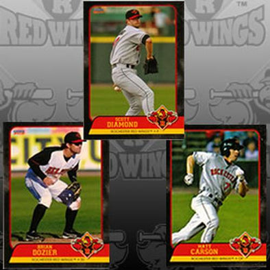 Rochester Red Wings 2012 Team Baseball Card Set