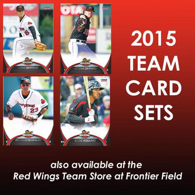Rochester Red Wings 2015 Team Baseball Card Set