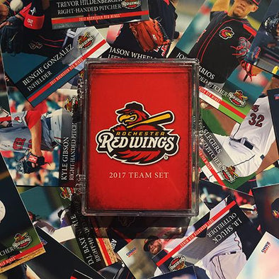 Rochester Red Wings 2017 Team Card Set