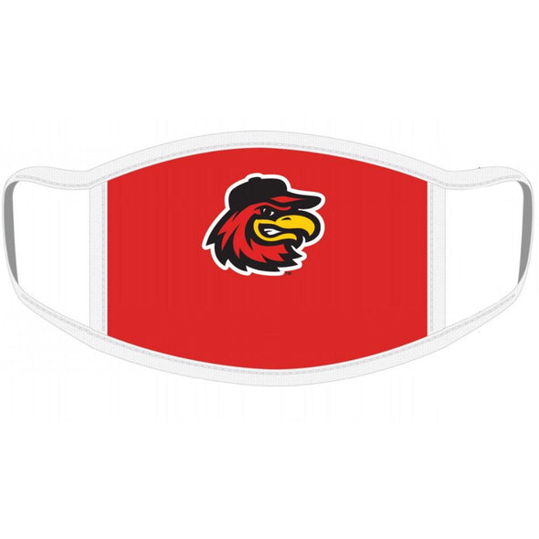 Rochester Red Wings YOUTH Red Face Mask