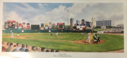 Rochester Red Wings Lithograph