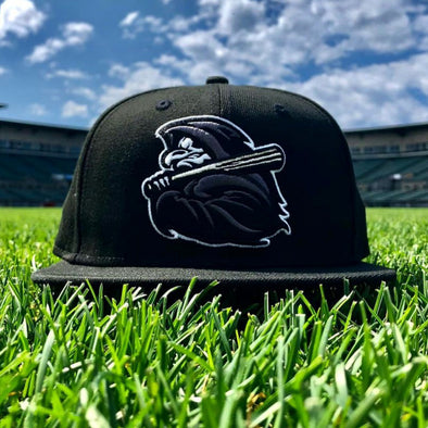 Rochester Red Wings Grim Reaper Fitted Cap
