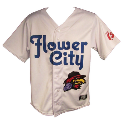 Rochester Red Wings 2018 Replica Roc the Roc Jersey