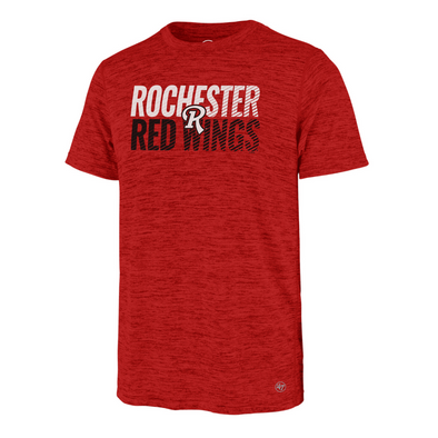 Rochester Red Wings Heather Red Athletic Tee