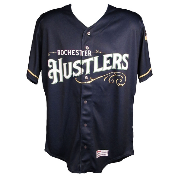 Rochester Red Wings Hustlers Navy Jersey