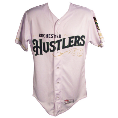 Rochester Red Wings Hustlers White Jersey