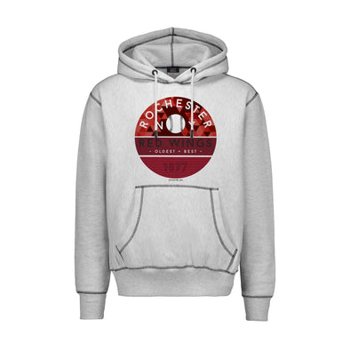 Rochester Red Wings Contrast Stitching Hoodie