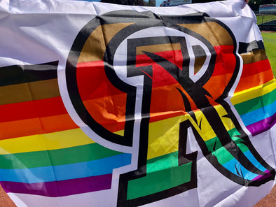 Rochester Red Wings - Pride Flag