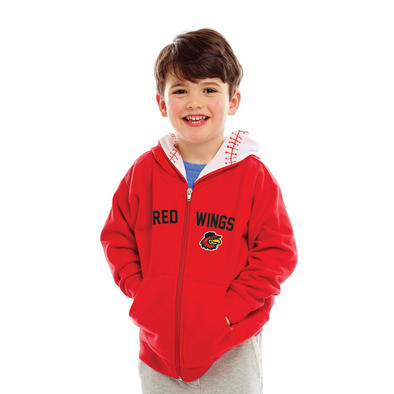 Red Toddler Full-Zip Hoodie