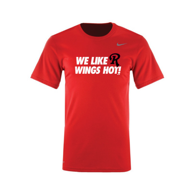 """We Like R Wings Hot"" Tee"