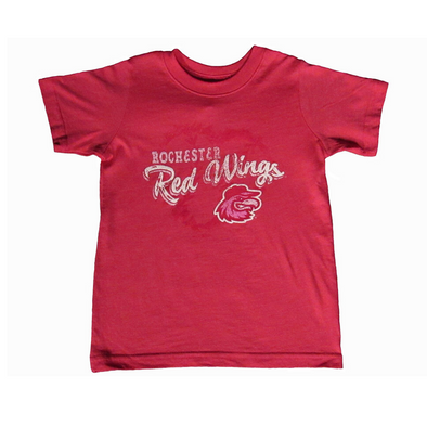 Rochester Red Wings Pink Toddler Tee