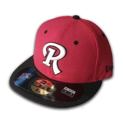 Rochester Red Wings R Logo Fitted Cap