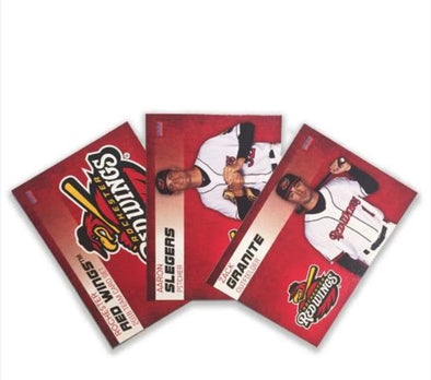 Rochester Red Wings 2018 Team Baseball Card Set