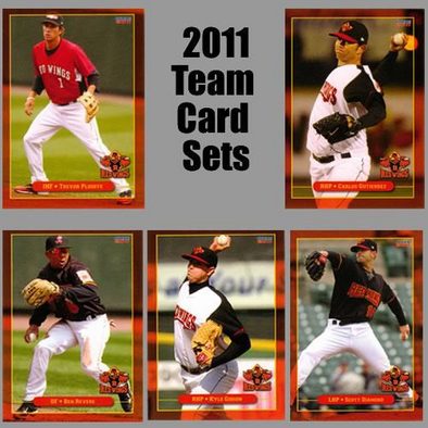 Rochester Red Wings 2011 Team Baseball Card Set