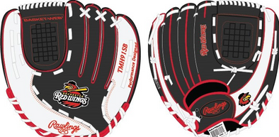 Rochester Red Wings Rawlings Youth Baseball Glove