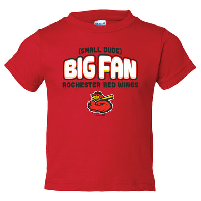 Rochester Red Wings Toddler Big Fan Tee