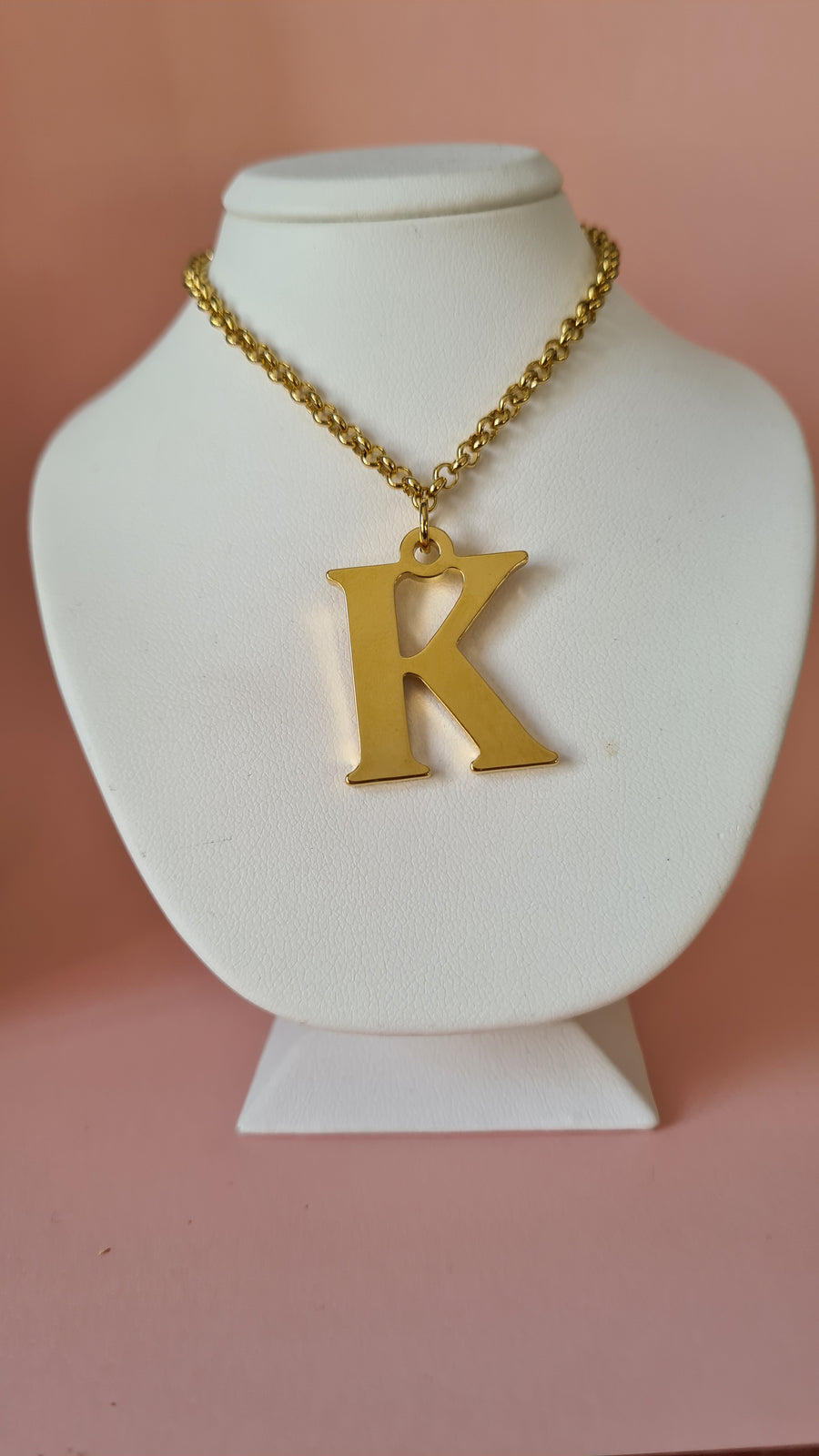 Big Letter 2.5cm Initial Necklace