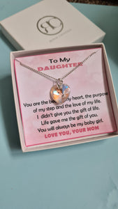 Daughter Heart Pendant Necklace GIFT FOR DAUGHTER