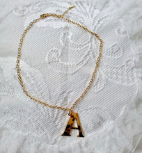 Load image into Gallery viewer, Big Letter 2.5cm Initial Necklace