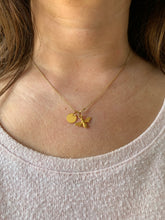 Load image into Gallery viewer, 24K Gold Plated Sterling Silver Customised Bee Necklace