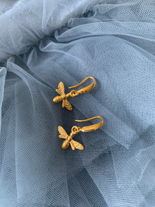 Honey bee Drop Earrings