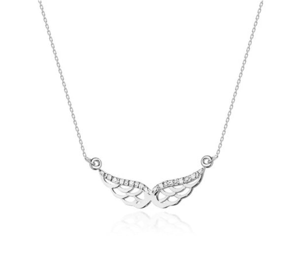 14K Gold Diamond Necklace RCC-1 0,03CT